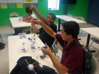 Student's hands-on experiences