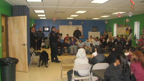 Police Department visit to Casa