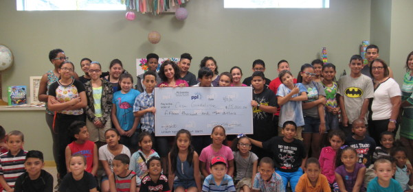 PPL Donates a Grant For Casa's Summer Education Program
